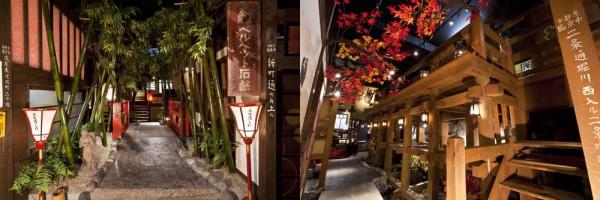 京都の名所を再現