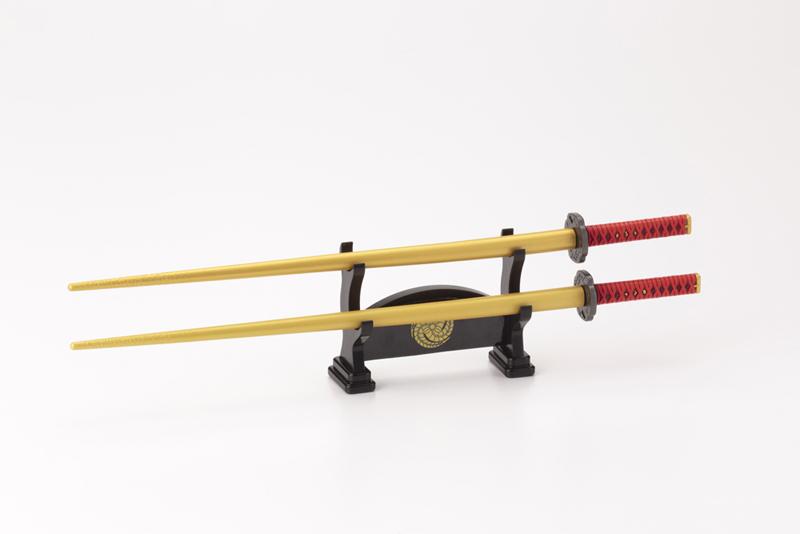 武士の魂が食卓によみがえる!侍箸シリーズに「へし切長谷部」「蜻蛉切」登場