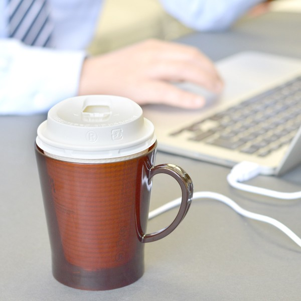 コンビニコーヒー対応 USBあったか紙カップウォーマー