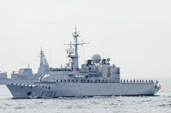 フランス海軍フリゲート、ヴァンデミエール(F734)