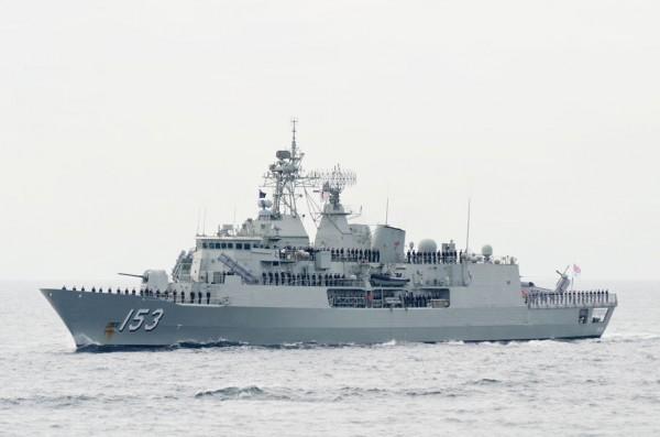 オーストラリア海軍フリゲート、スチュアート(FFH-153)