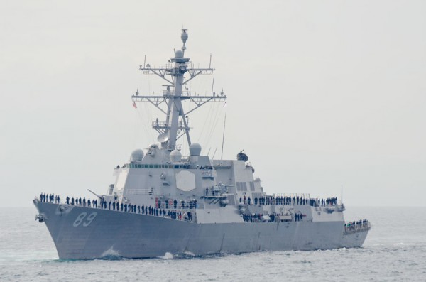 アメリカ海軍駆逐艦マスティン(DDG89)
