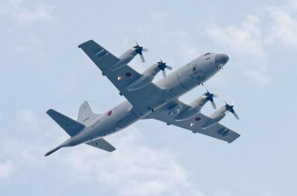 15日の指揮官機P-3C(第51航空隊5044号機)