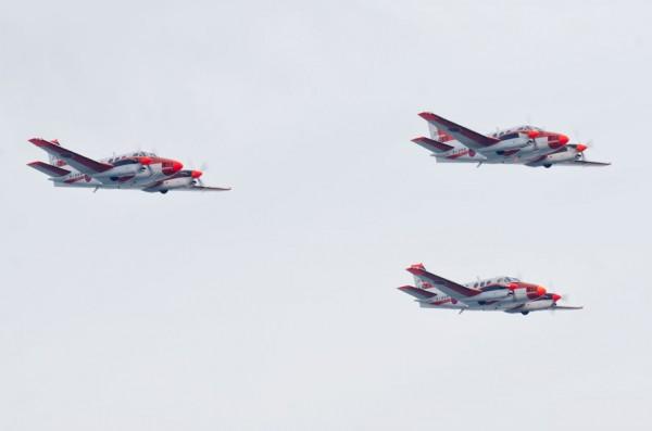第202教育航空隊のTC-90