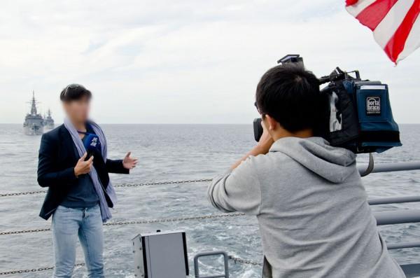 台湾FTVのリポーター