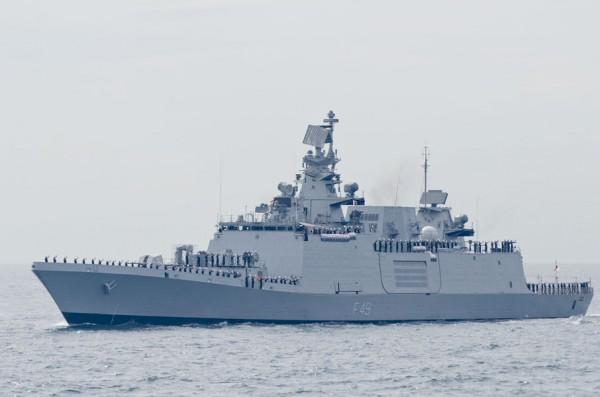 インド海軍フリゲート、サヒャディ(F49)