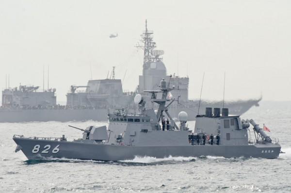 受閲第7群・ミサイル艇おおたか(PG-826)