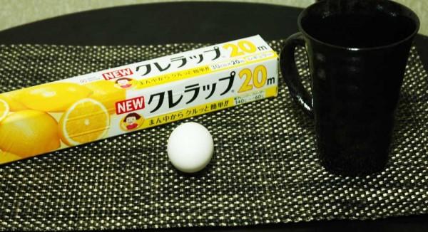 レンチン45秒で作れる温泉卵の材料