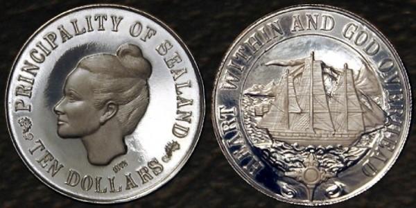 シーランド公国の硬貨