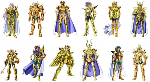 黄金聖闘士キャラクター画像