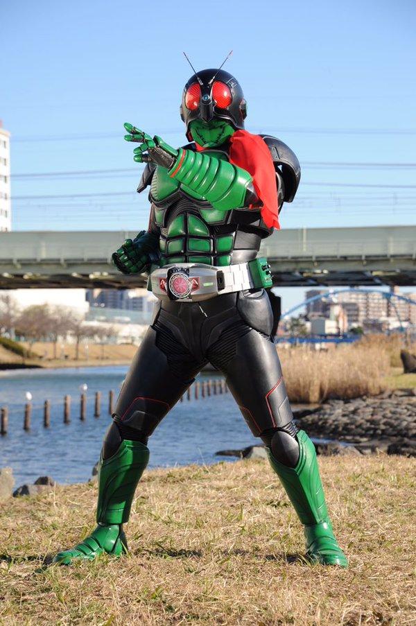 『仮面ライダー1号』新スーツ発表で往年のファン「中の人はまさか……」