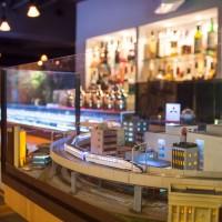 鉄道模型店が銀座に鉄道ジオラマバー開店!シュッシュッポポン