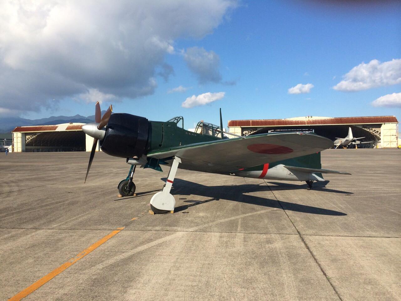 零戦、鹿児島・鹿屋基地で27日からテスト飛行