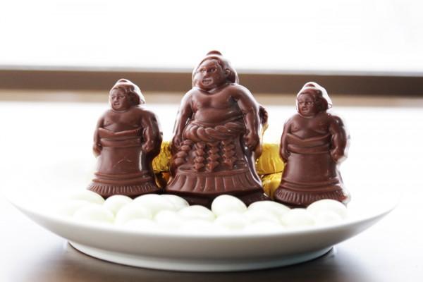 デラックス角力チョコレートを並べてみた。