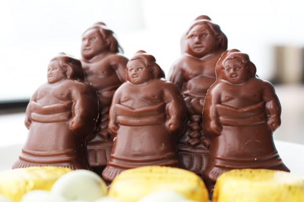 デラックス角力チョコレート