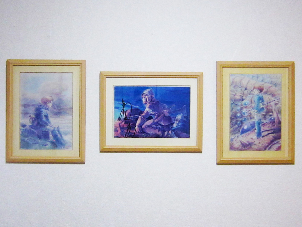 【ジブリグッズ物語】コピー機購入のため販売された「風の谷のナウシカ複製原画三種セット」