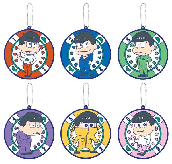 おそ松さん  ボールチェーン付 ビッグラバーコースター(全6種)