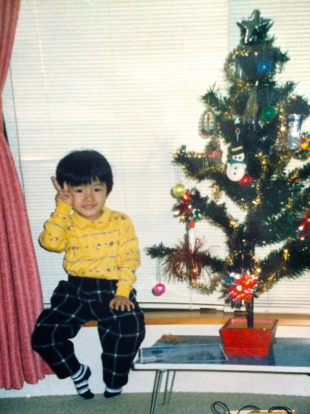 龍太朗さん子供のころの写真