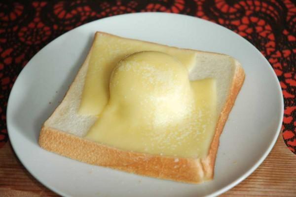 (雪見だいふくチーズトースト)