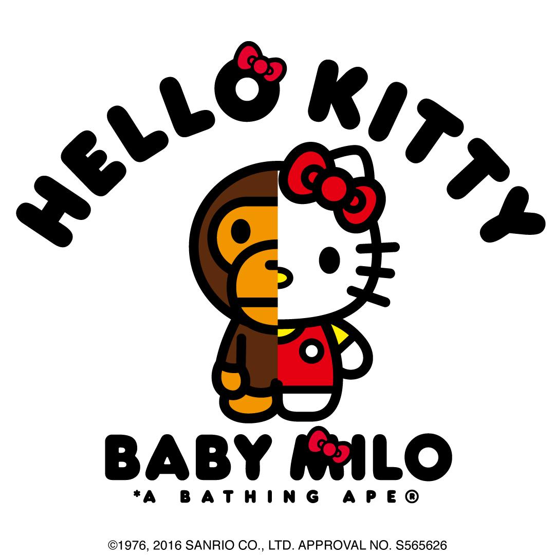 キティちゃんとBABY MILOのコラボが思い切りよすぎる 新グッズ登場