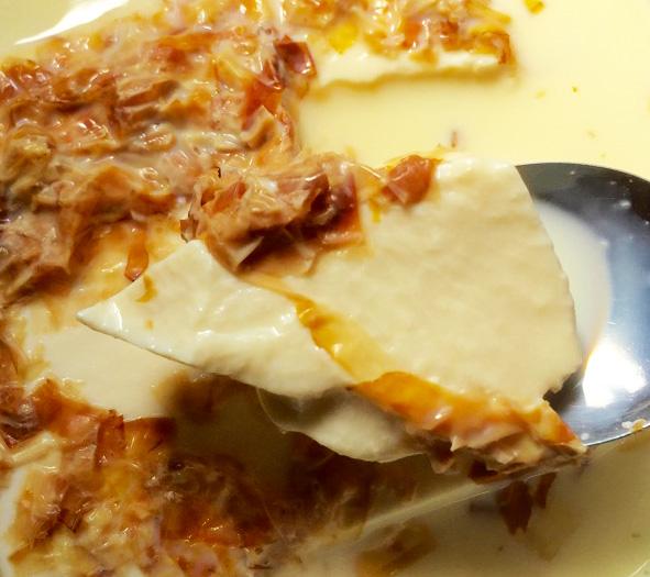 豆腐に豆乳かけてチン!すると「とろっと料亭の味になる」と噂です