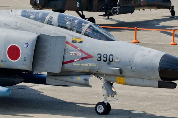 航空観閲式でのF-4EJ改
