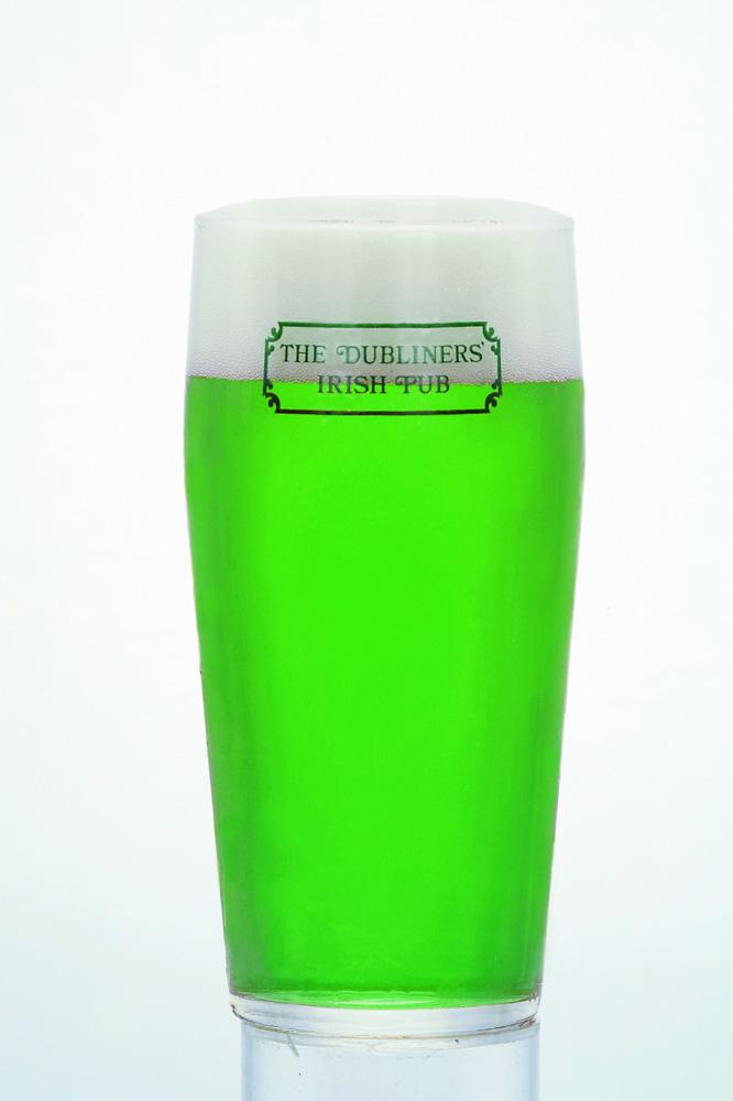 緑色のビールが登場! いったい何入ってんの?