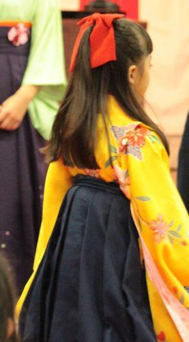 最近の小学校・保育園卒業ファッションに変化!袴女子が増加中