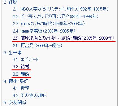 陣内さんのWikipedia