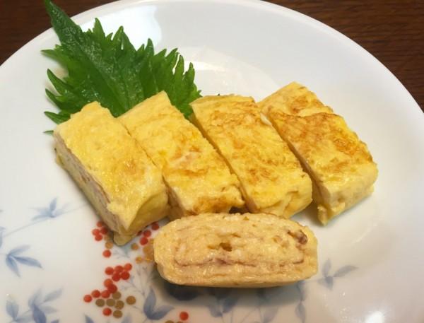 (玉子豆腐入り玉子焼き)