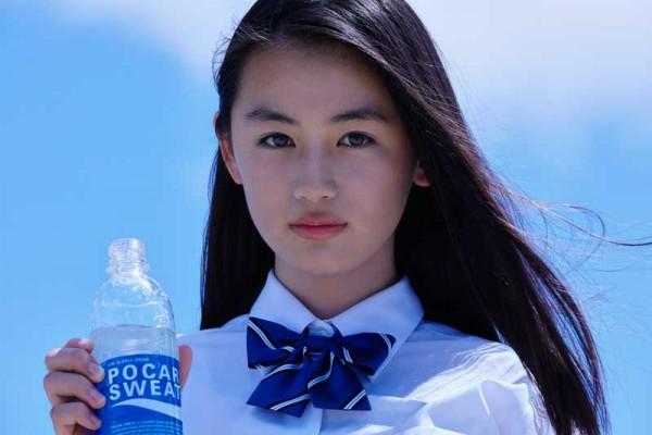 2016年ポカリスエットイメージガール、八木莉可子さん