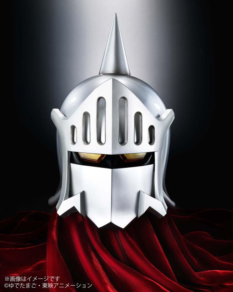 お部屋のインテリアにいかが? ロビンマスクのマスクを原寸大で立体化