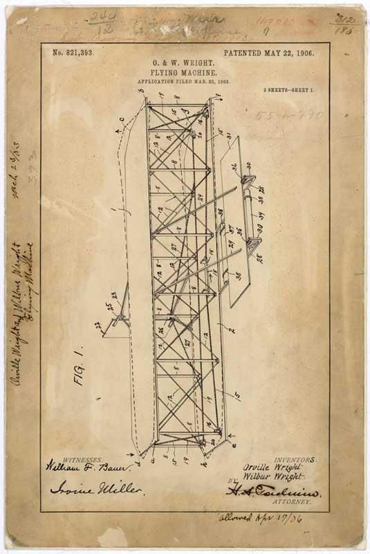 どこ行ってた!?ライト兄弟の飛行機特許ファイルが36年ぶりに見つかる