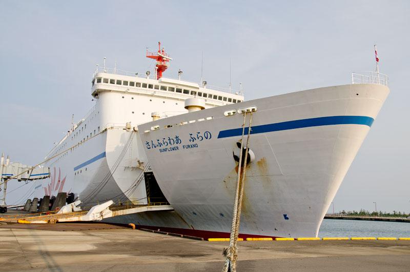 商船三井フェリー、定期便を欠航し避難者宿舎に提供を検討