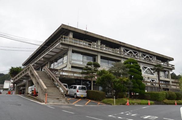 倉吉市庁舎に来ました!