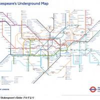 ロンドン地下鉄がシェイクスピアの世界に! 交通局とのコラボ路…