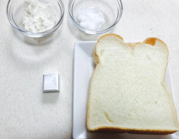 メロンパントーストの材料