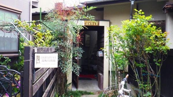 湿板写真館入り口