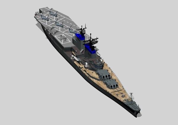 戦艦アイオワ記念館のエイプリルフールネタ。