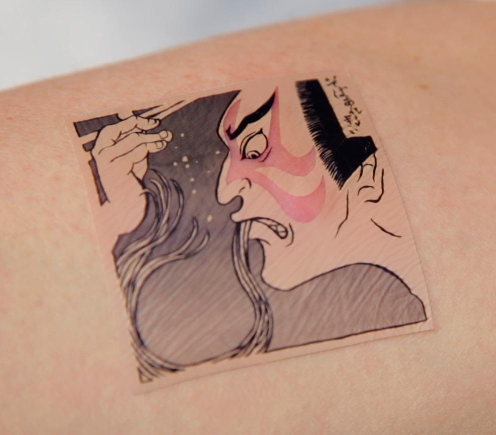 外国人向け「ジャパニーズタトゥー風そばアレルギー・チェッカー」がCOOL!!