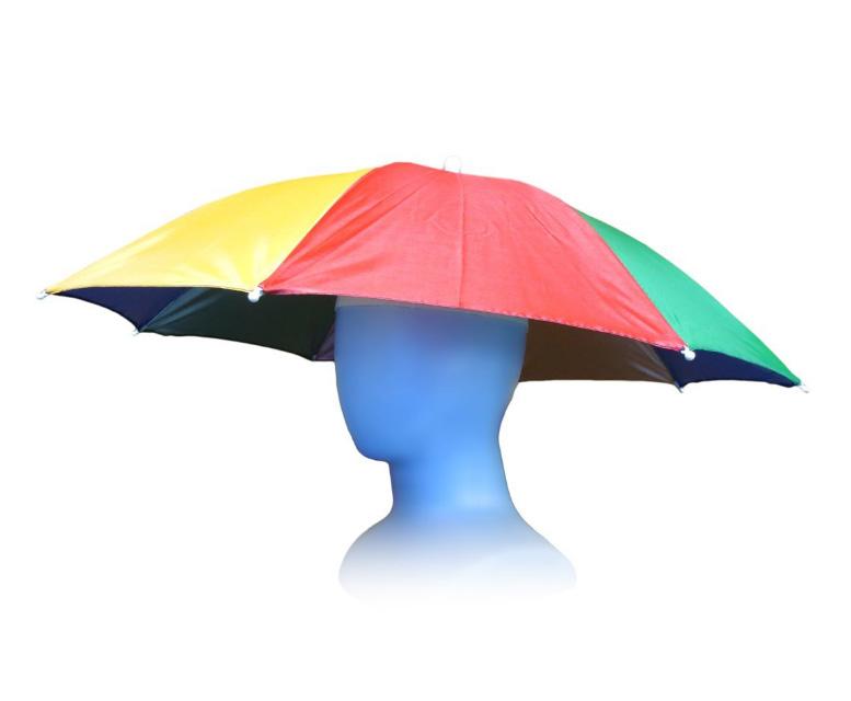 便利だけど勇気をためされる傘帽子 使うポイントは「恥を捨てられるか」