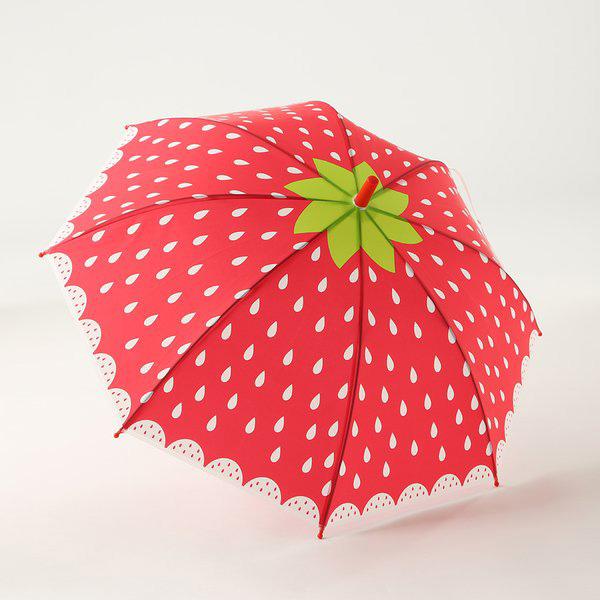 いちごの傘
