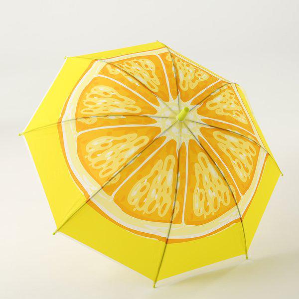 オレンジの傘