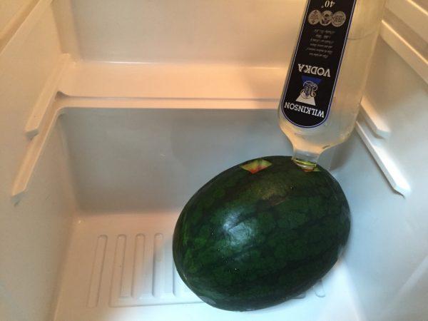 冷蔵庫で寝かせる