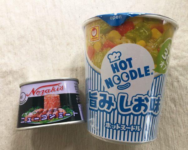 HOTNOODLE 旨みしお味+ニューコンミート