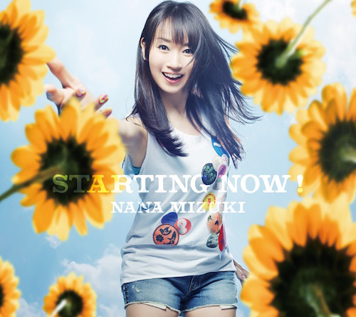 34thシングル『STARTING NOW!』