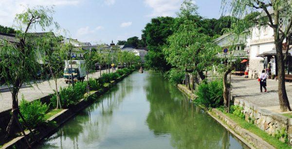 岡山県の倉敷美観地区