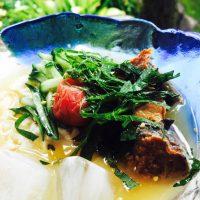 宮崎のばあちゃん直伝「サバ缶冷や汁」で暑い夏をサラっと吹っ…
