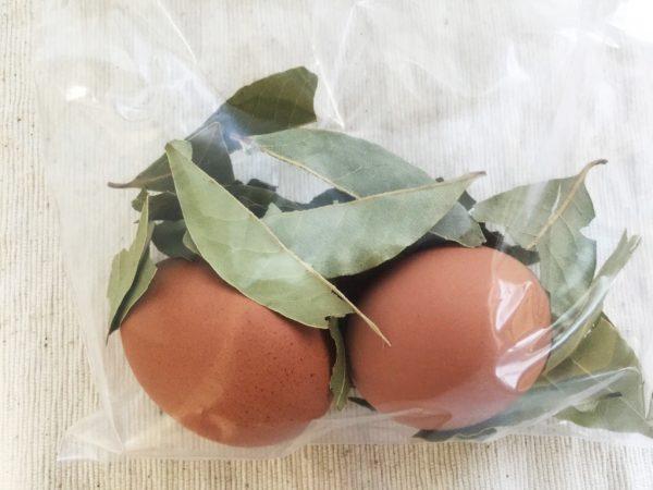 ローリエ+卵