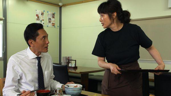 松重豊さんと余貴美子さん